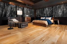 33 rustic wooden floor bedroom design inspirations natural