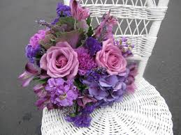 shades of purples stock wedding bouquet stock comes in shades of pink lavender