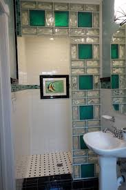 glass block designs for bathrooms glass block shower contemporary bathroom cleveland by