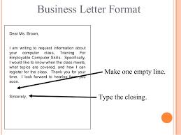 Formal Letter Asking Information letter writing communication skills