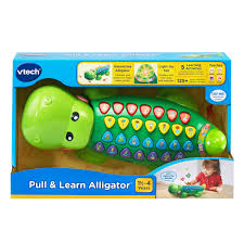 amazon com vtech pull and learn alligator toys u0026 games