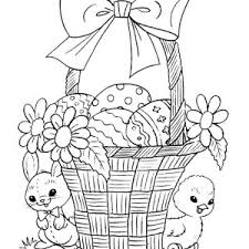 easter bunny decorating easter egg coloring batch coloring