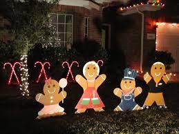Snowman Lawn Decorations Wooden Christmas Yard Decorations Christmas Lights Decoration