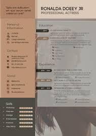 resume portfolio template design resume cv template with portfolio a4 portrait