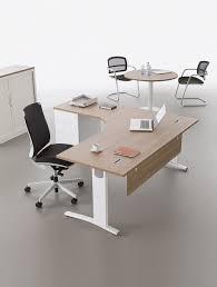 bureau retour bureau compact avec retour sur caisson elise delex mobilier