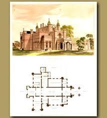 Gothic Architecture Floor Plan Mansion Floor Plans Victorian Homes House Plans Victorian Floor