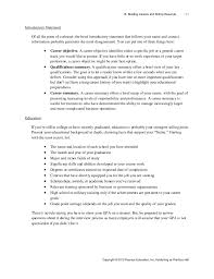 resume companies stunning resume introductory statement exles gallery simple