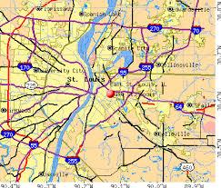 map st louis east st louis illinois il 62205 profile population maps