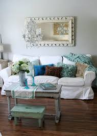 Shabby Chic Sunroom Chic Style Sofas Sunroom Traditional With Seagrass Rug
