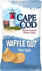 cape cod waffle cut kettle cooked potato chips sea salt 7 oz