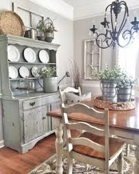 European Inspired Design  Our Work Featured In At Home Room - Rustic dining room decor