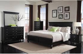 bedroom charming south shore vito black queen platform bedroom