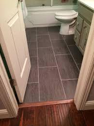 the burrow bathroom tile metro gris grey tile small bathroom