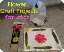 tinkerlab creative challenge flower projects coffee cups and
