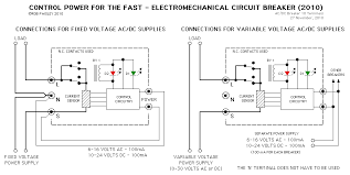 control power for the circuit breaker control circuit circuit