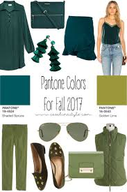 fall 2017 pantone colors pantone fall colors for 2017 shaded spruce and golden lime