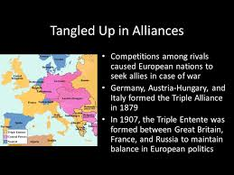Challenge Causes Unit V Modern Era Present Day Causes Of Wwi Rivalries Germany