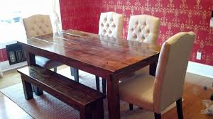 james and james tables james james 6 farmhouse table in vintage dark walnut stain
