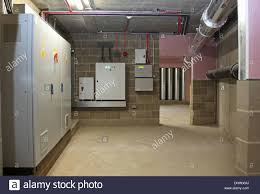 electrical basement plant room in a major residential development