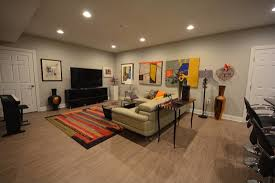 Laminate Floor On Ceiling Basement Flooring Perfect For Unpredictable Oregon Weather