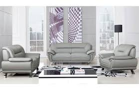 Modern Gray Leather Sofa Modern Grey Leather Sofa