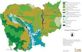 Map Of Cambodia Index Of Maps Biodiversity Pad Cambodia