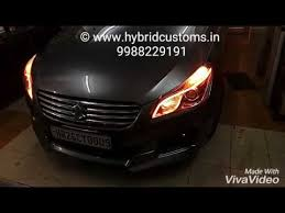 Custom Car Lights Maruti Suzuki Ciaz Daytime Running Lights Drl Custom Headlights