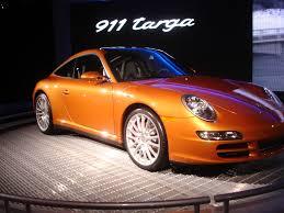 orange porsche targa file porsche 911 targa la auto show 2006 jpg wikimedia commons