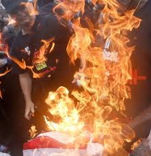 Illegal To Burn American Flag Donald Trump Americans Burning Us Flag Should Go To Jail Lose