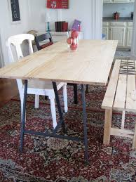 Build A Dining Room Table Harlem Home How To Build A Dining Room Table For 100