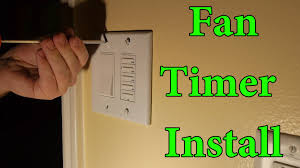 leviton ltb30 1lz fan timer install youtube