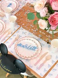 vintage disneyland 3rd birthday party for scarlett u2022