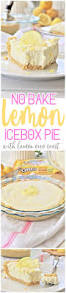 no bake lemon oreo crust lemon cheesecake icebox pie easy dessert