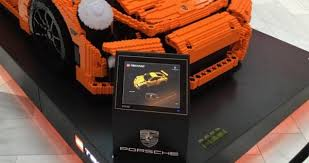 porsche life size spotted this epic life size brick built moc is an awesome