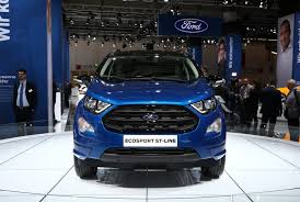 2018 ford ecosport tries to pass as a new subcompact suv