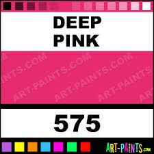 deep pink designer gouache paints 575 deep pink paint deep