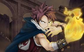 wallpaper fairy tail natsu dragneel anime guy fire hd picture