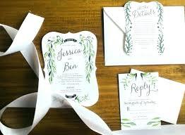 rustic wedding invitation kits wedding invitation sets ryanbradley co