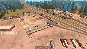 Louisiana Road Map Louisiana Raceway V 1 2 2 Map American Truck Simulator Mod Ats Mod