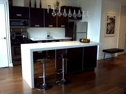 Quartz Kitchen Countertops Cost by Kitchen Waterfall Countertop Ideas Home Inspirations Design