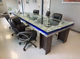 Glass Top Conference Table Michael Designs