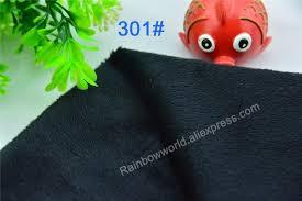drap canap 301 noir couleur microfibre minky doux velboa tricot tissu
