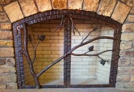 Arched Fireplace Doors by Modern Fireplace Custom Doors Fireplace Door Guy