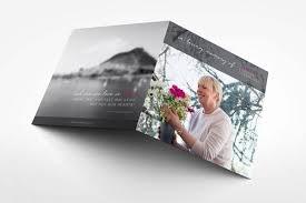 unique funeral programs buttercup funeral program design memory press
