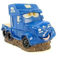 blue ribbon pet products smiley truck ornament aquarium character
