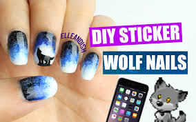 diy wolf nails with a phone youtube