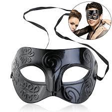 mens venetian masks winomo masquerade mask black venetian mask men women costume