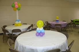 sweet 16 table centerpieces how to simple and affordable balloon centerpiece baby shower