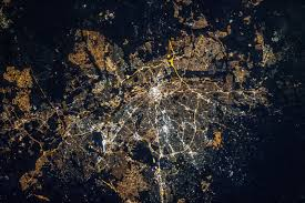 World At Night Map by Map Monday Sa Cities U0027 Beautiful Night Lights As Seen From Space