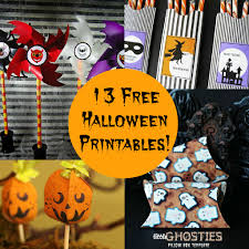 Free Printables For Halloween by 13 Halloween Printables All For Free